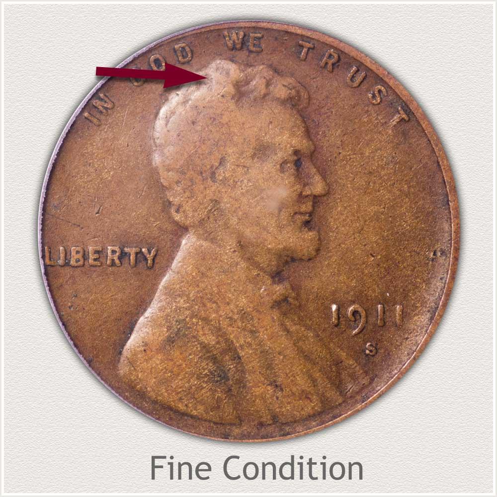 Fine Grade Lincoln Penny