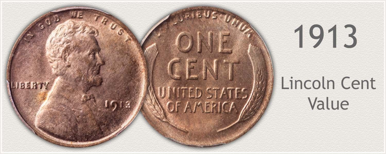 1913 Lincoln Wheat Penny