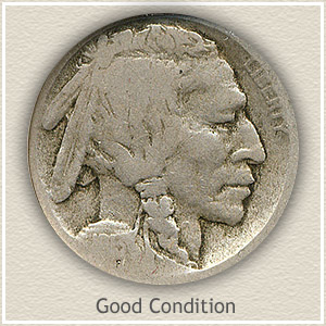 1913 Nickel Good Condition