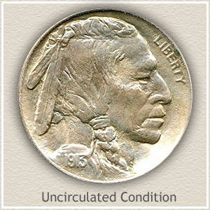 1913 Nickel Uncirculated Condition