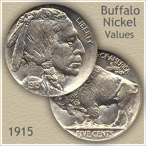 Uncirculated 1915 Nickel Value