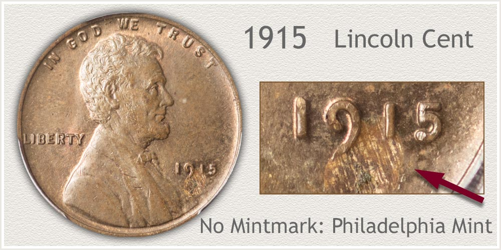 1915 Lincoln Penny