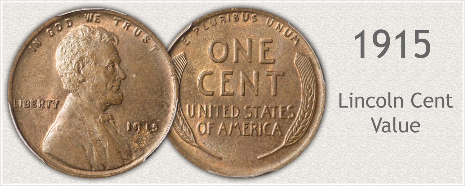 1915 Lincoln Wheat Penny