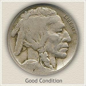 1918 Nickel Good Condition