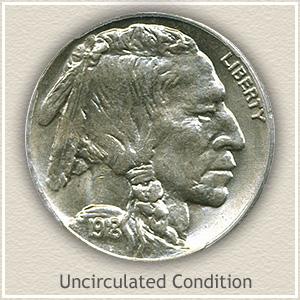 1918 Nickel Uncirculated Condition