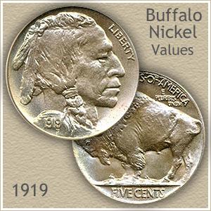 Uncirculated 1919 Nickel Value