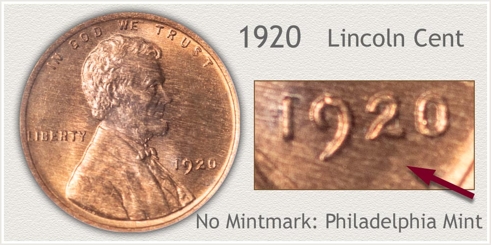 1920 Lincoln Penny
