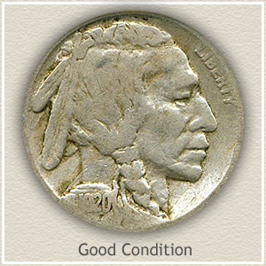 1920 Nickel Good Condition
