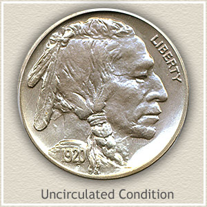 1920 Nickel Uncirculated Condition