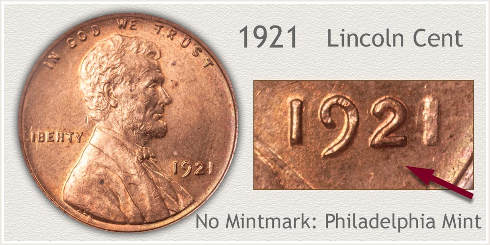 1921 Lincoln Penny
