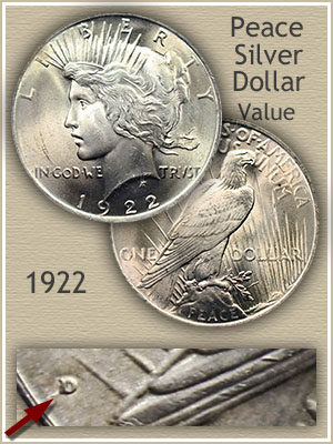 1922 Peace Silver Dollar Value Discover Their Worth