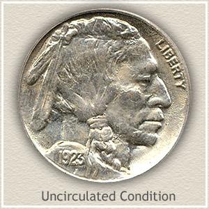1923 Nickel Uncirculated Condition