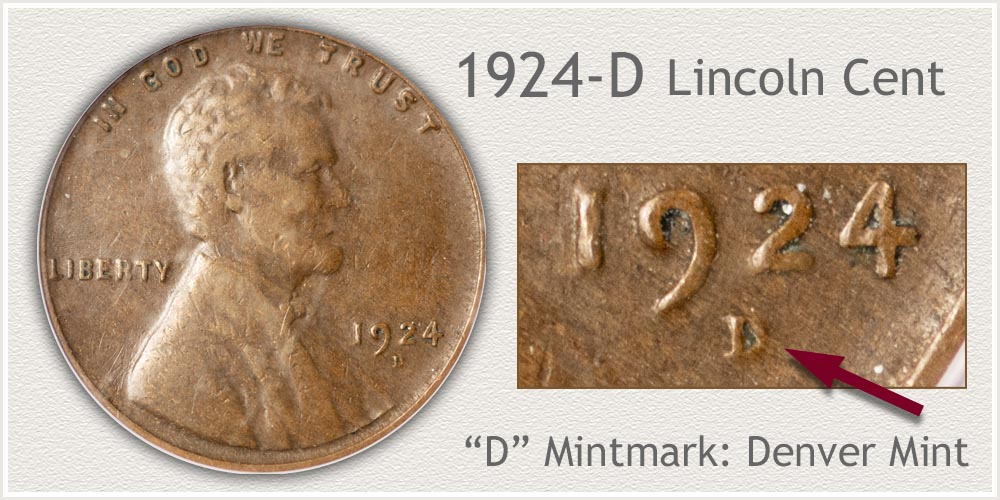 1924-D Lincoln Penny
