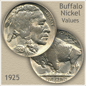 Uncirculated 1925 Nickel Value