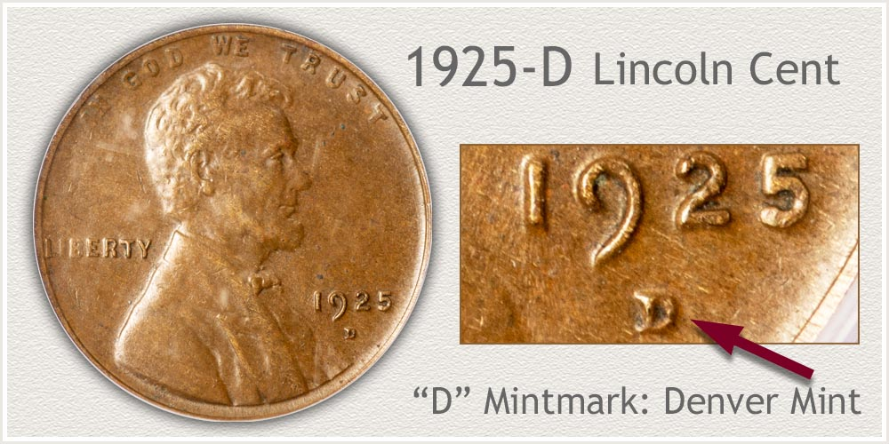 1925-D Lincoln Penny