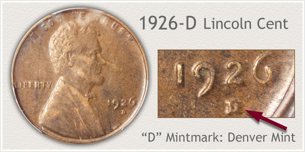 1926-D Lincoln Penny