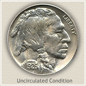 1926 Nickel Uncirculated Condition