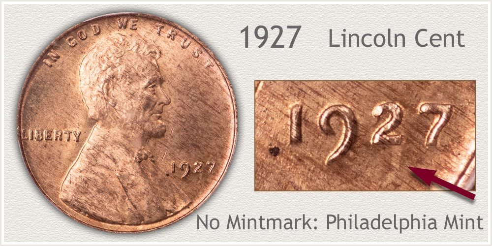 1927 Lincoln Penny