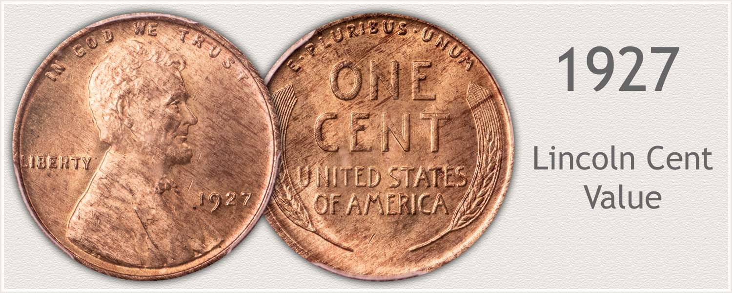 1927 Lincoln Wheat Penny