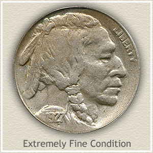1927 Nickel Extremely Fine Condition