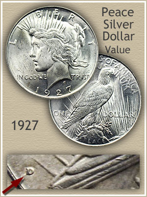 1927 Peace Silver Dollar Value Discover Their Worth