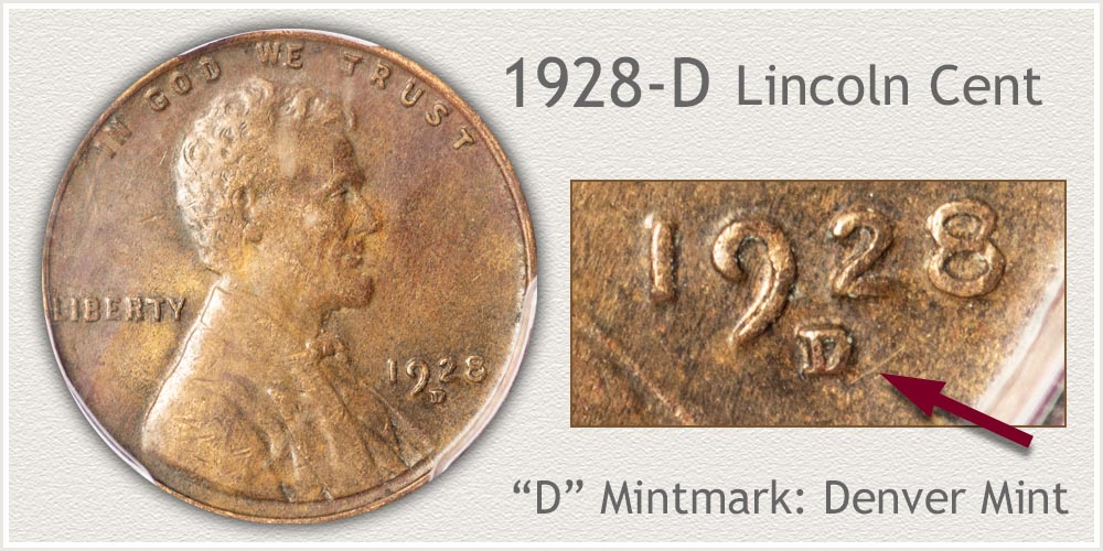 1928-D Lincoln Penny
