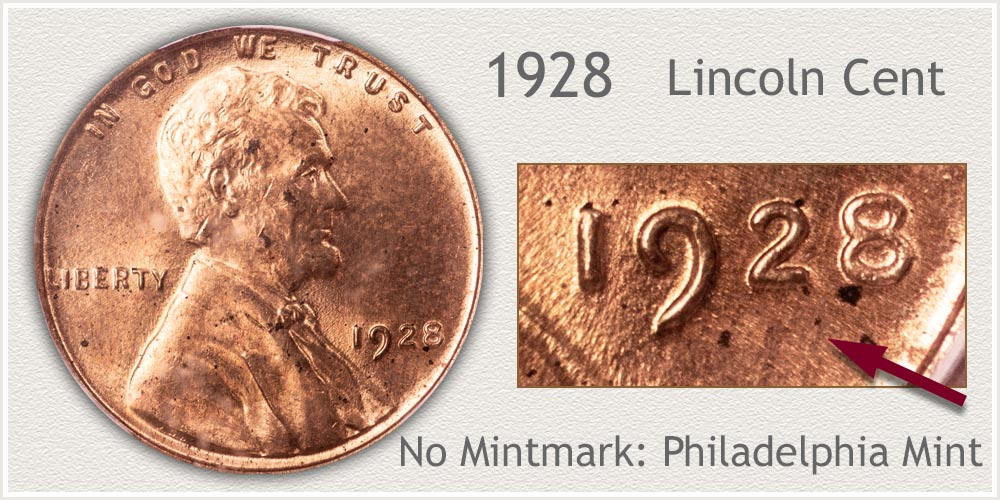 1928 Lincoln Penny