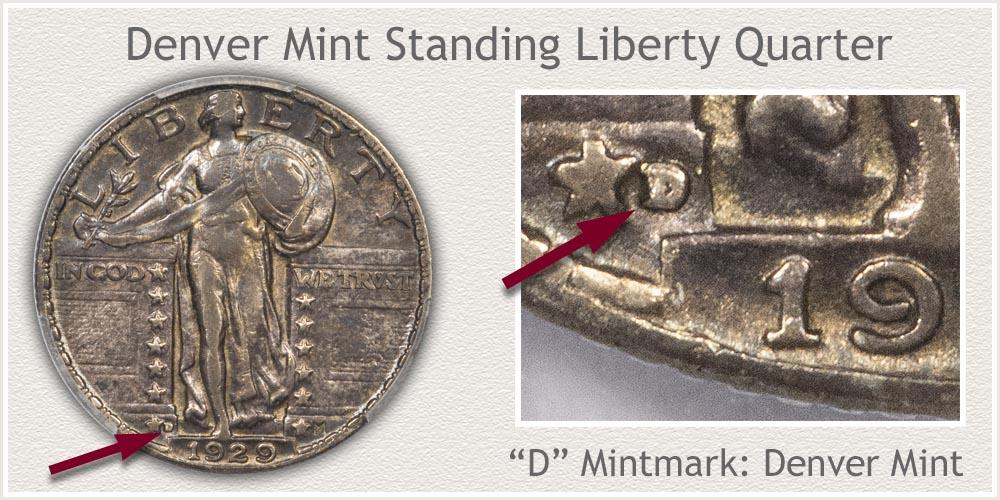 1929-D Standing Liberty Quarter