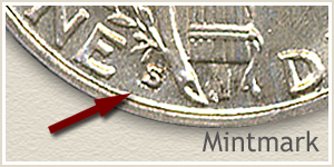 1930 Dime S Mintmark Location