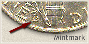 1931 Dime S Mintmark Location