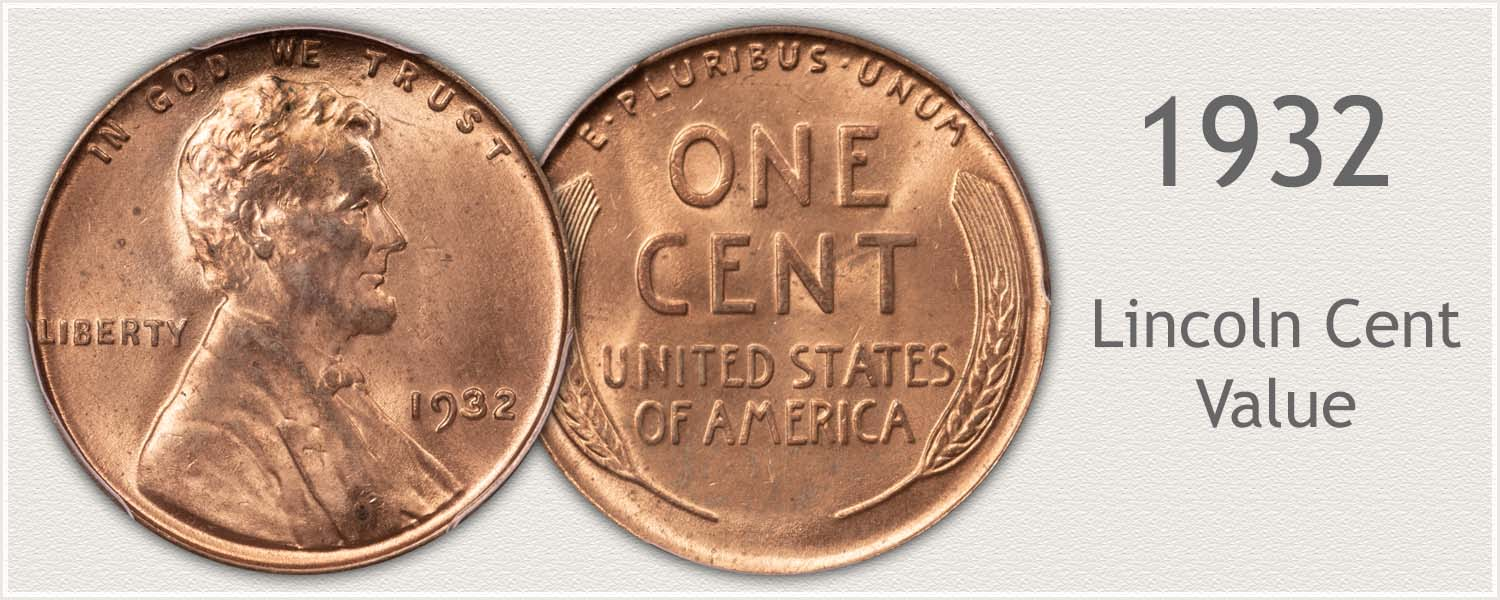 1932 Lincoln Wheat Penny