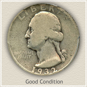 1932 Quarter Good Condition