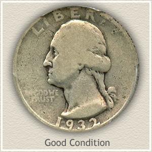 1932 Quarter Good Condition