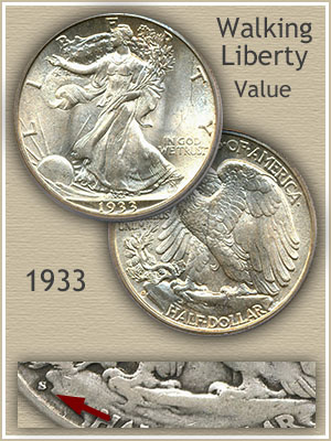 Uncirculated 1933 Half Dollar Value