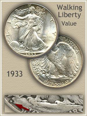 Uncirculated 1933 Half Dollar Value