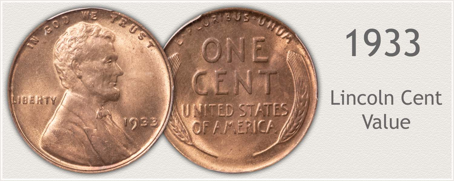 1933 Lincoln Wheat Penny