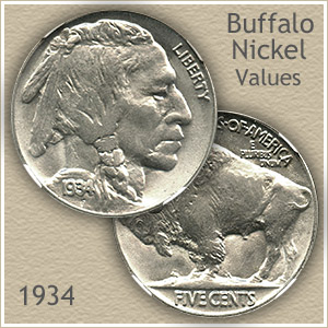 1934 Nickel Value Discover Your Buffalo Nickel Worth