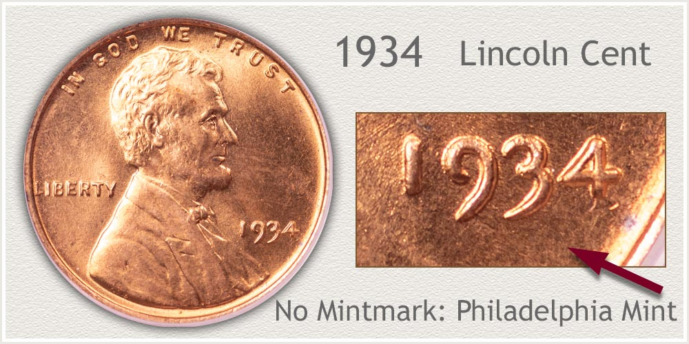 1934 Lincoln Penny