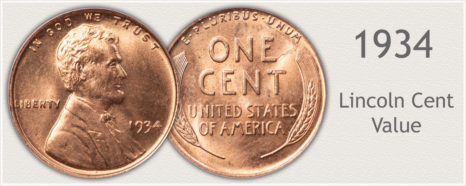 1934 Lincoln Wheat Penny