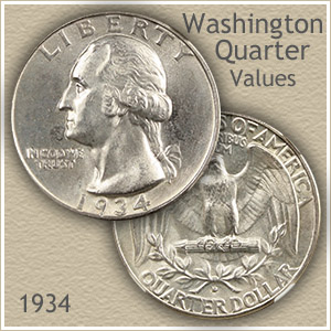 1934 Quarter Value