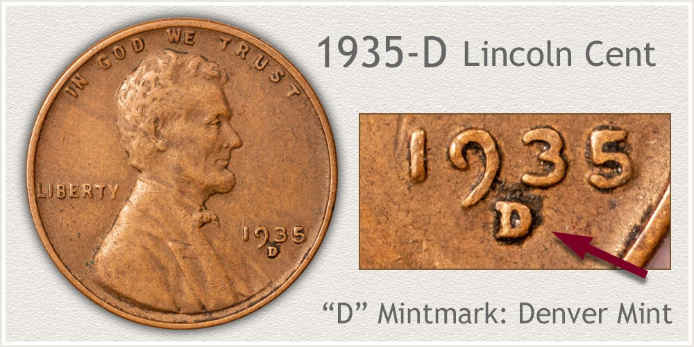 1935-D Lincoln Penny