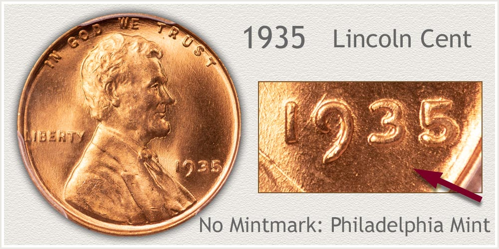 1935 Lincoln Penny