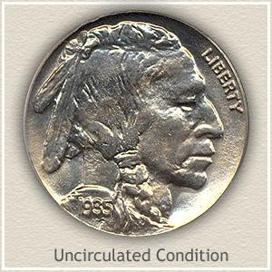 1935 Nickel Uncirculated Condition