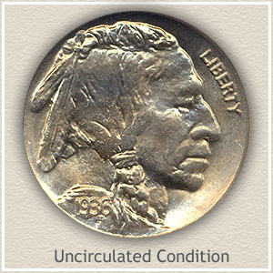 1936 Nickel Uncirculated Condition