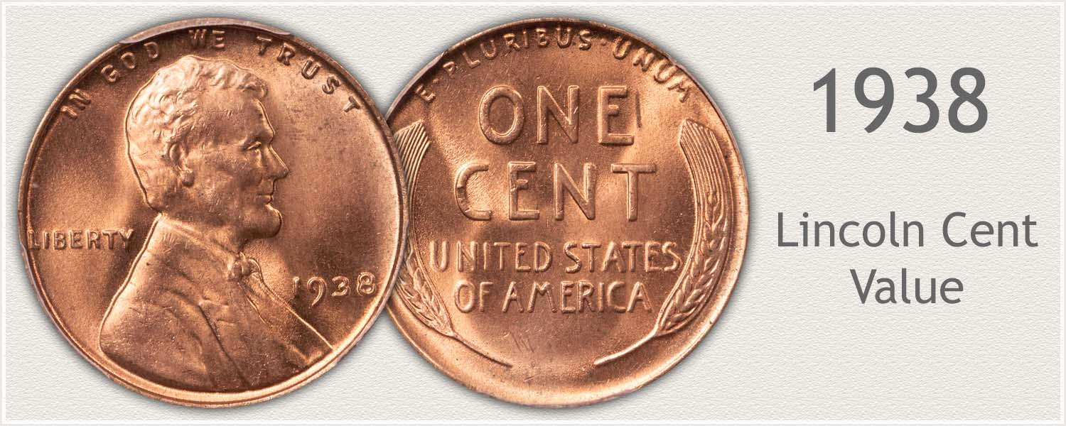 1938 Lincoln Wheat Penny
