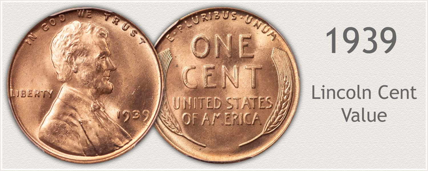 1939 Lincoln Wheat Penny