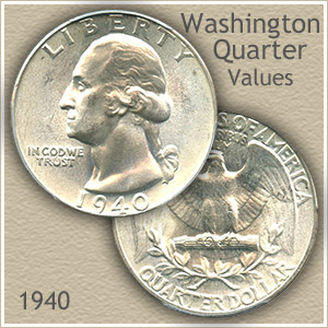 1940 Quarter Value