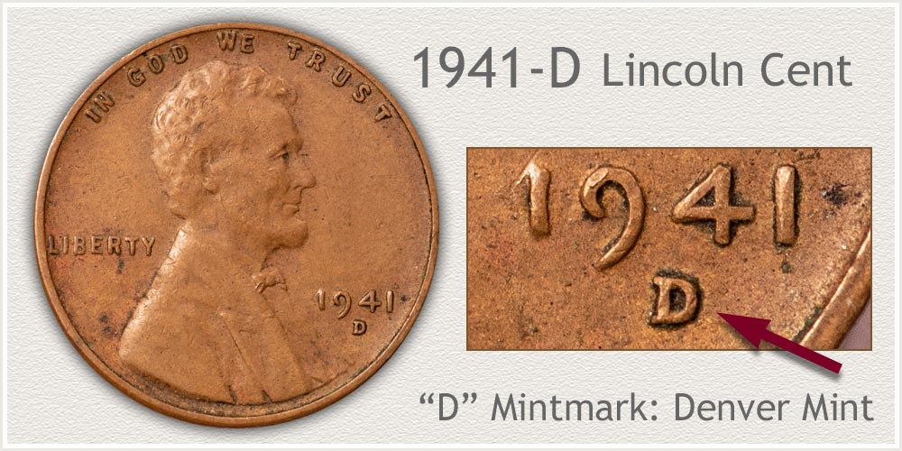 1941-D Lincoln Penny