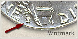 1941 Dime S Mintmark Location
