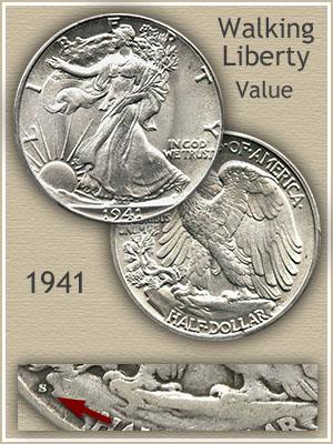 Uncirculated 1941 Half Dollar Value